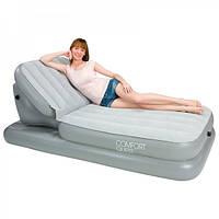Надувная кровать с регулируемой спинкой BESTWAY 67386