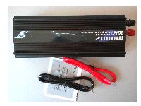 Авто инвертор 2000 W (Вт.) Автомобильный преобразователь 12 В - 220 В, фото 1