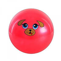 Мяч резиновый для детей MS 0249 Мордочки Животных 9 дюймов 10 видов