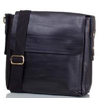 Мужская кожаная сумка-почтальонка ETERNO (ЭТЭРНО) TU8959-black