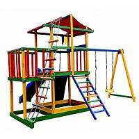 Игровая площадка для дачи Babyland-11 цветная