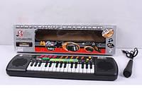 Детский орган MQ-001FM, пианино синтезатор с радио и микрофоном