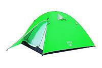 Палатка 2-х местная двухслойная! 2000 mm H2O! Bestway 68009!