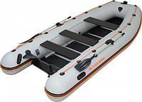Лодка надувная ПВХ, килевая, 6-ти местная, моторная Kolibri КМ- 450 DSL