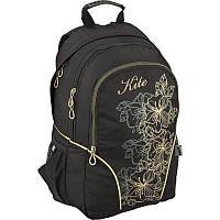 Рюкзак Kite 812 Take'n'Go K16-812L черный школьный детский для девочек