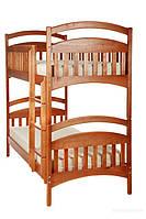 """Двухярусная кровать Из натурального дерева """"Карина"""""""