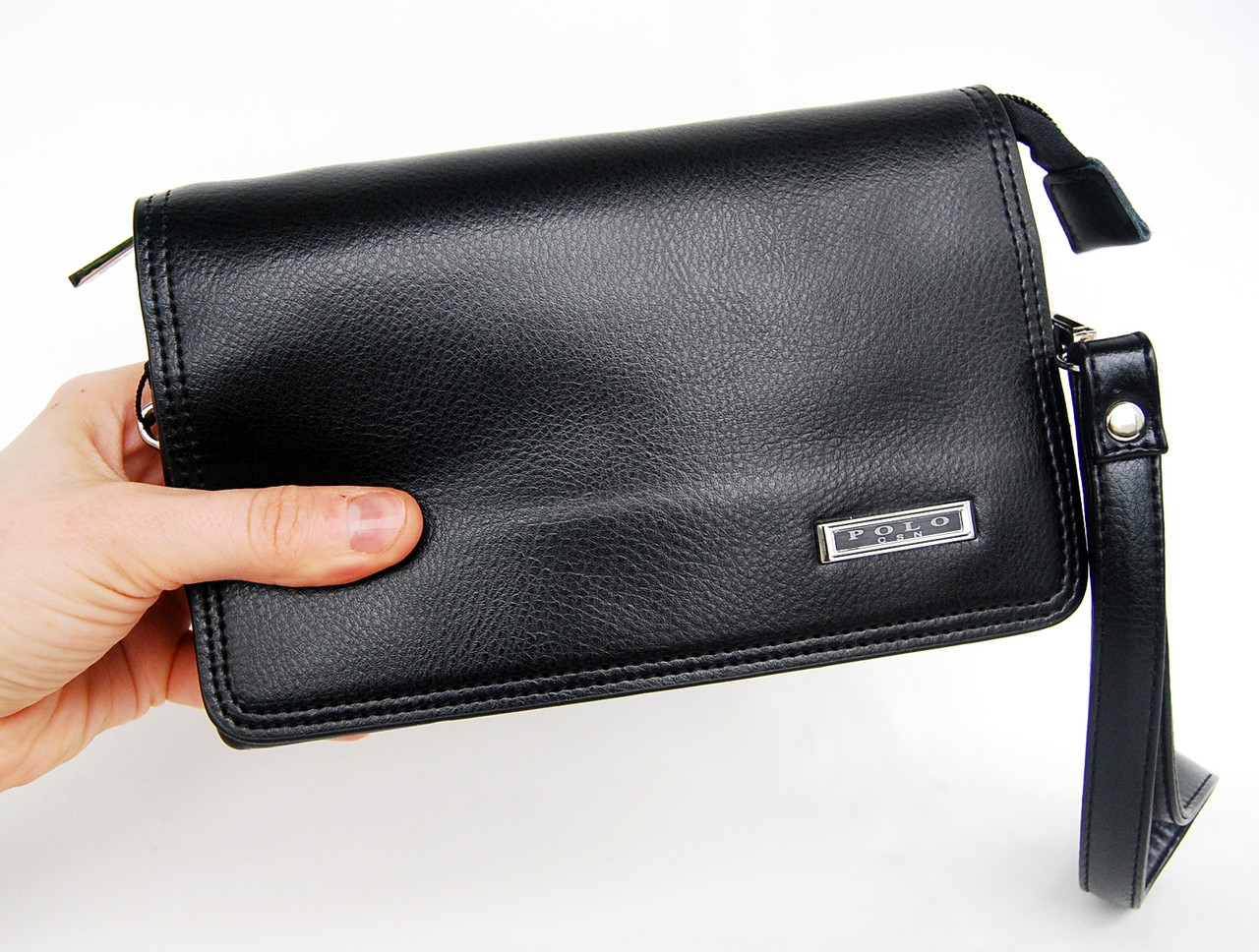 0e47e6ace5ff Качественная мужская сумка борсетка, клатч Polo. ЕК63: продажа, цена ...