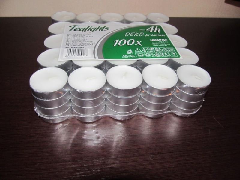 Свечи (таблетка) 100 шт. в упаковке.