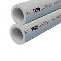 Труба PN20 для горячей воды Ø110мм TEBO (серый)