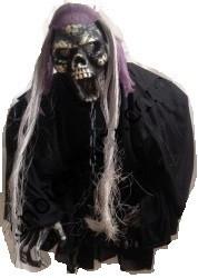 Кукла подвесная, страшно смеется, декорация на Хэллоуин