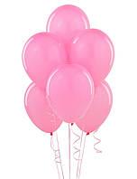 Воздушые шары розовые 100 шт. 21 см.