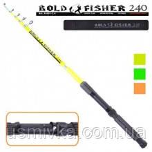 "Спиннинг телескоп ""BOLD FISHER"" тест: -60-120г 240см UD2473240"