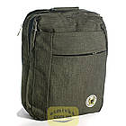 Сумка-рюкзак Fashion трансформер 14 л зеленый 50164, фото 2