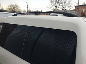 (CAN) Черные рейлинги VW Caddy (пластиковые концевики)