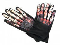 Перчатки с кровью