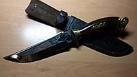 Охотничий нож Спутник Архар. Ручная работа. Качественный подарочный нож