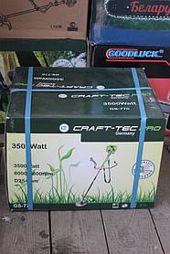 Бензокоса Craft-tec PRO 3500W (диск с победитом, 1 шпуля, легкий пуск)