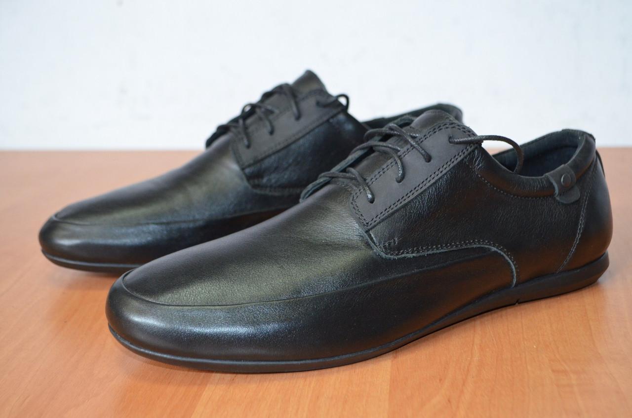 Туфли из натуральной кожи черные.Туфли мужские. - Интернет- магазин