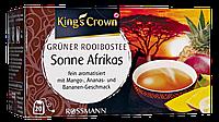 King's Crown Grüner Rooibostee Sonne Afrikas - Зеленый чай РО́ЙБУШ С АРОМАТОМ МАНГО, банана 40 Г, 20 ПАКЕТИКОВ