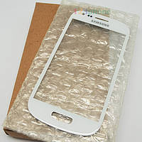 Стекло Samsung Galaxy S3 Mini I8190 white (белое)