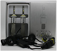 Автолампа LED R3, H1, Cree XHP-50, 6000K, 45W косичка
