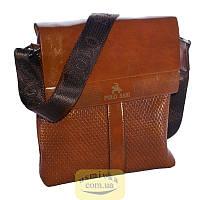 Сумка мужская Polo планшет коричневая 54174
