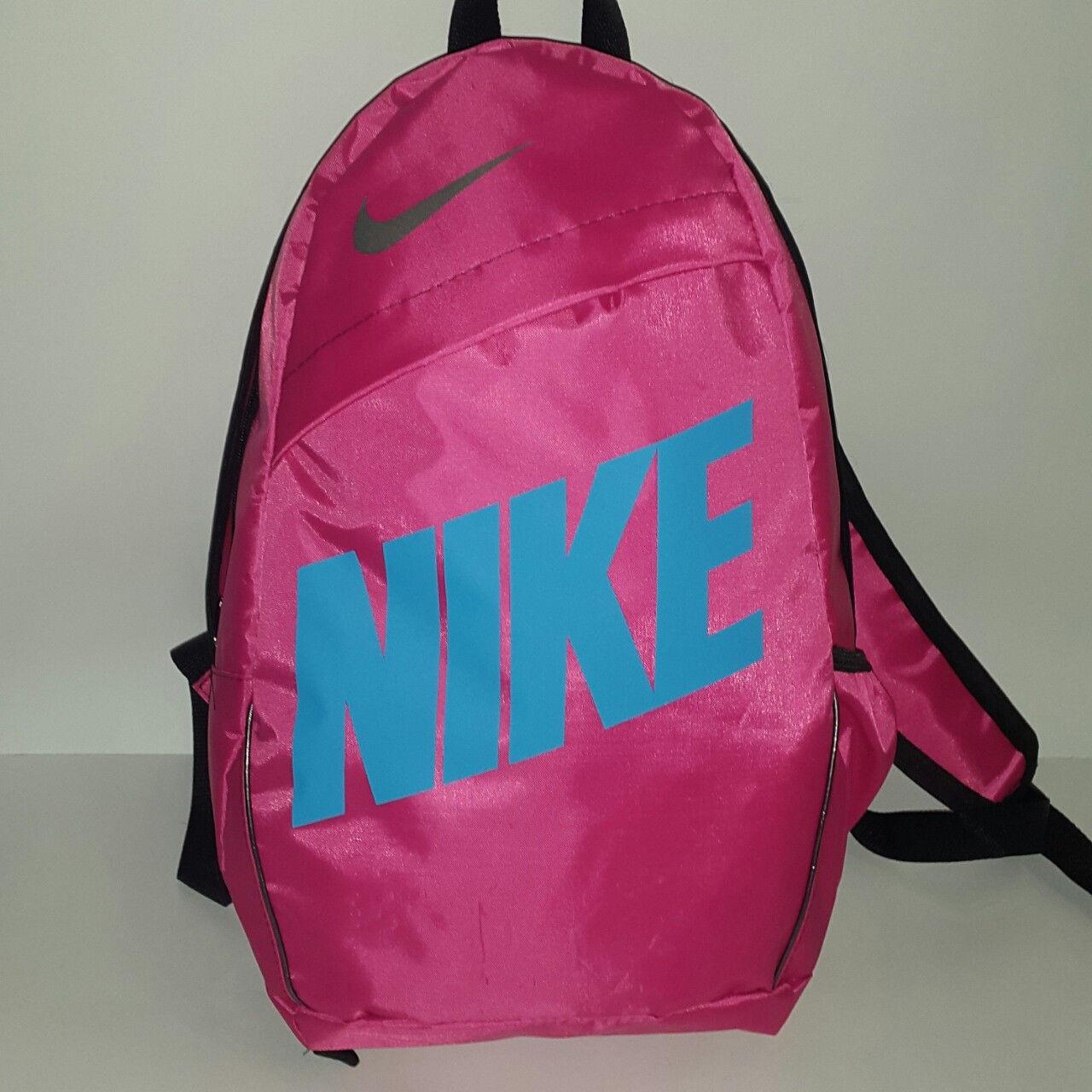 37313204 Рюкзак Nike Classic Line, Найк розовый с синим - Интернет-магазин