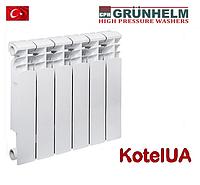 Биметаллический радиатор отопления Grunhelm Bitherm 500*80