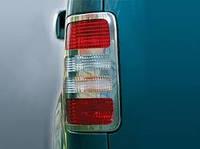 Накладки на стопы (окантовка) Volkswagen CADDY (Фольксваген кадди), нерж.