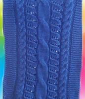 Шарф хомут женский Коса с ажуром м 9305, разные цвета