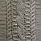 Шарф хомут женский Коса с ажуром м 9305, разные цвета, фото 2