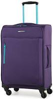 Симпатичный тканевый 4-колесный чемодан 49 л. Members Hi-Lite (M), 922803 фиолетовый