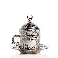 Чашка для кофе Серебрянное сердце