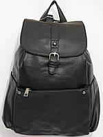 Рюкзак  кож.зам черный, фото 1