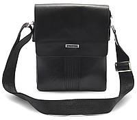 Стильная черная мужская сумка LANGSA art. 8932-2, фото 1
