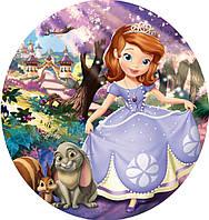 Принцесса София 22 Вафельная картинка