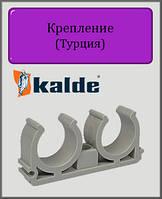 Крепление двойное Kalde 25 полипропилен