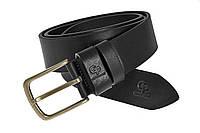 Кожаный ремень Classico Bronzo, чёрный