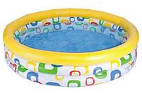 Надувной бассейн 58449 детский Intex 168х40см Интекс, фото 1
