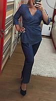 Джинсовый костюм 03319