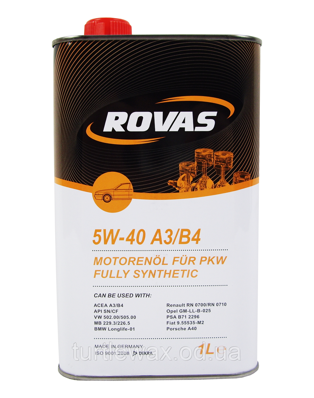 Масло моторное ROVAS Fully Synthetic 5W-40 1л