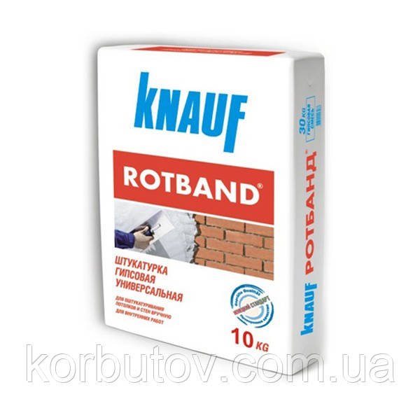 "Штукатурка  ""ROTBAND"" KNAUF"