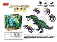 Динозавр на батарейках, музыка, свет, в коробке 36*25*12 см