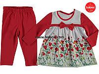 Красивый нарядный костюм для девочки 6-9-12-18мес. код.20988