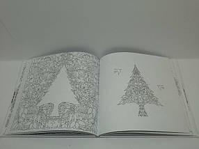 Зачарований ліс Басфорд Розмальовка антистрес Видавництво Старого Лева, фото 3