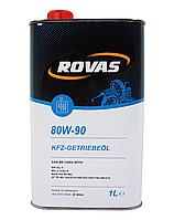 Трансмиссионное масло ROVAS 80W-90 GL5 1л