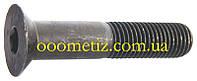 Винт М12х60 10.9 стальной без покрытия DIN 7991 с потайной головкой и внутренним шестигранником