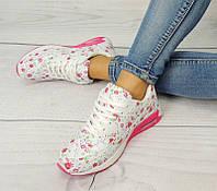 Яркие женские кроссовки  размеры 37,38
