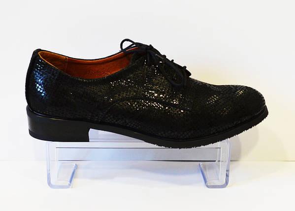 Туфли женские на шнурке змея Kento 22643, фото 2