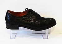Туфли женские на шнурке змея Kento 22643